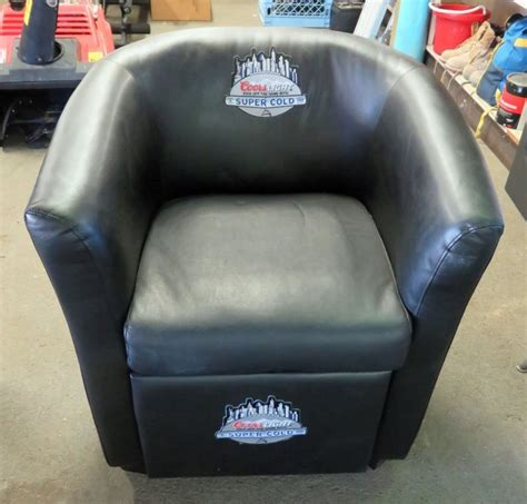 coors light chair with built in cooler coors cooler shop collectibles online daily