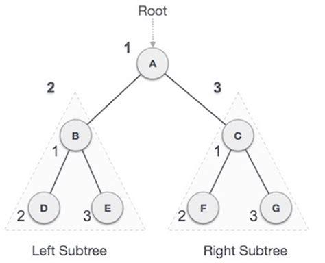 tutorialspoint tree data structures and algorithms tree traversal