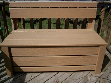 Deck Storage Bench Tru Tales Feats Deck Storage Bench