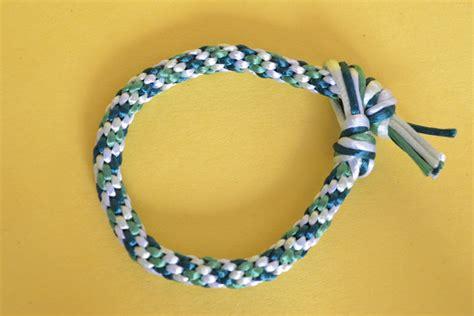 diy braided cord bracelet kumihimo kristiina