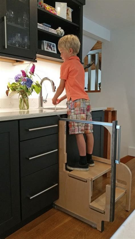 Cabinet Pull Out Step Stool by Foldable Stairs For Step 180 Cabinet Step