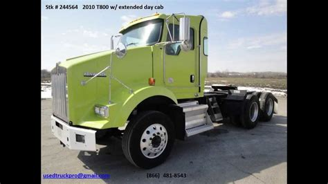kenworth automatic transmission for sale for sale 2010 kenworth t800 extended day cab from used