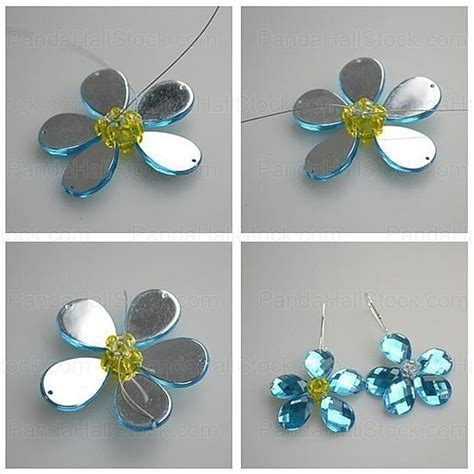 how to make acrylic jewelry how to make jewelry with 4 acrylic rhinestone