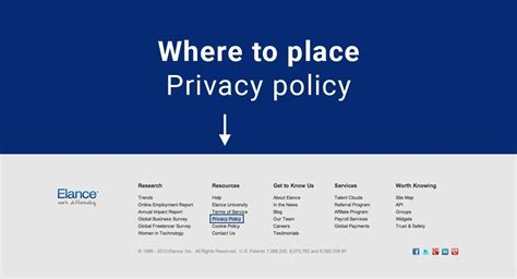 privacy policy template australia free where to place your privacy policy on your website termsfeed