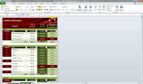 microsoft office budget templates holidays template excel calendar template 2016
