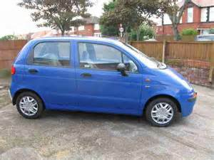 Daewoo Matiz Blue Daewoo 2000 Matiz Se Blue Car For Sale