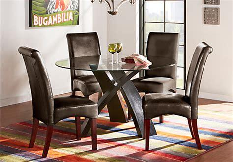 5 pc dining room set cardi s furniture mar 5 pc dining set contemporary
