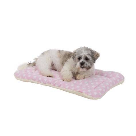 Pets At Home Crate Mat by House Of Paws Fleece Puppy Crate Mat Pink Pets At Home