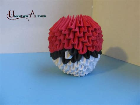 Origami Pokeball - 3d origami p album unknown author 3d origami