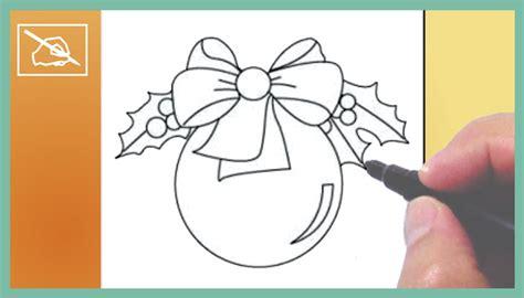 imágenes de navidad para dibujar fáciles c 243 mo dibujar una esfera de navidad drawing a christmas
