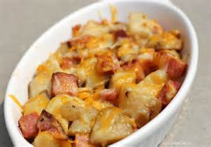 quick and easy meals ham potato skillet recipe
