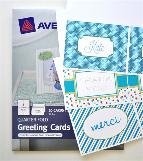 staples greeting card envelope template diy personalized notecards centsational
