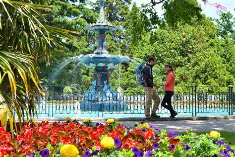 Garden Christchurch Nz Boxing Day In The Botanic Gardens Canterbury Museum