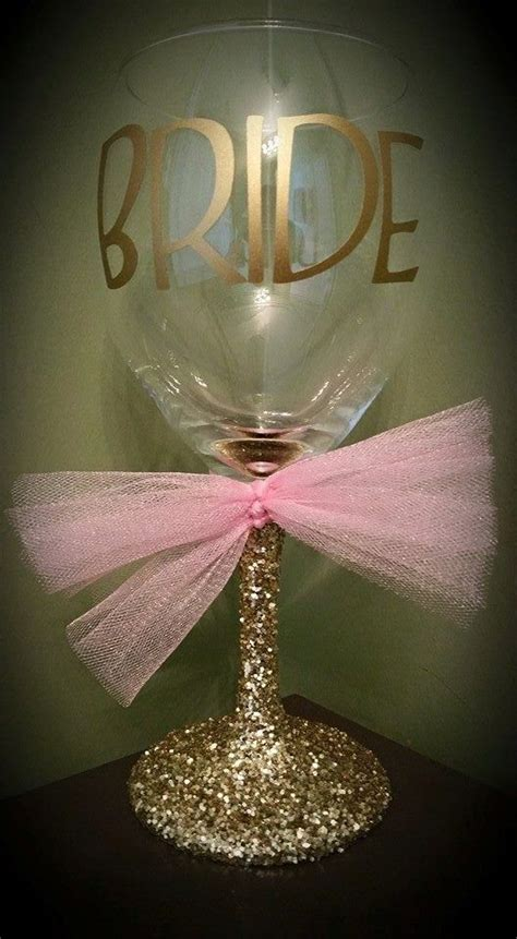 wedding favors chagne glasses glitter stemmed wedding wine glass for the to
