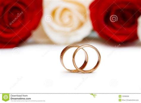 Wedding Concept Images by Wedding Concept With Roses And Rings Stock Image Image