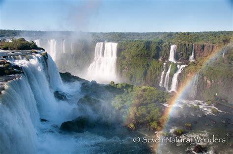 natural wonders iguassu falls pictures seven natural wonders