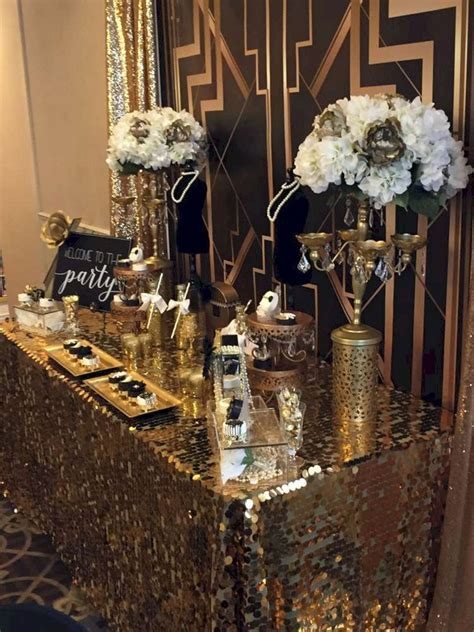 10  Awesome Decorations Great Gatsby party Ideas   Great