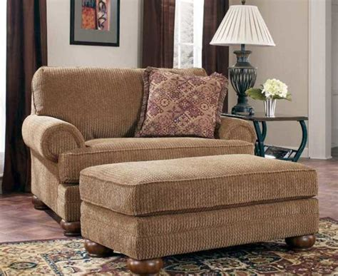 oversized living room chair with ottoman large living room chairs in brown color ideas