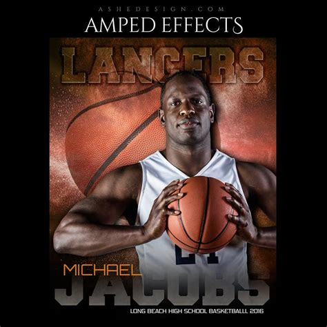Ashe Design Amped Effects Photoshop Templates Sports Poster 16x20 Powder Explosion Ashe Photoshop Templates