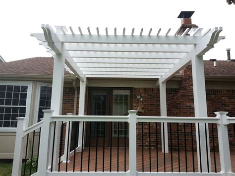 vinyl aluminum pergola kits decks fencing contractor talk