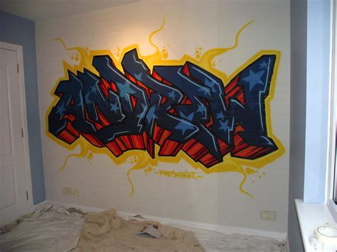 painting graffiti on bedroom walls kids graffiti bedrooms fresh paint