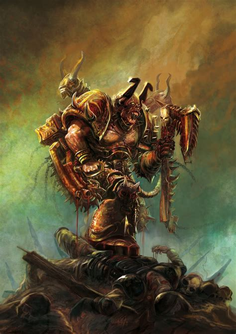 servant  khorne image warhammer  fan group mod db