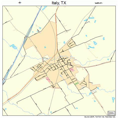 italy texas map italy texas map 4837072