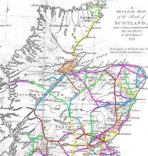 printable road map of scotland pin road map scotland on pinterest