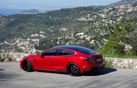 Tesla P85d Larte Creates Mental Tesla Model S P85d Tune Ev Hypercar