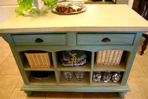 painted kitchen island with annie sloan chalk paint white coastal charm sunday open house