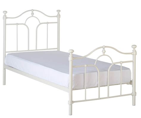 metal bed frame feet seconique keswick keswick cream high foot end metal bed