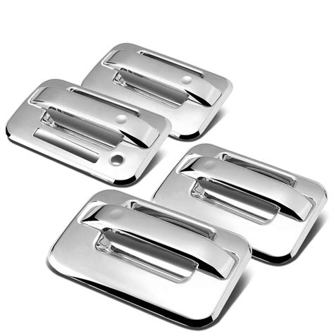 Front Door Handle With Keypad 04 14 Ford F150 4dr 4pcs Exterior Door Handle Cover With
