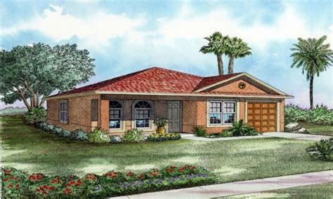 Mediterranean Bungalow House Plans by One Story Mediterranean House Plans Mediterranean House
