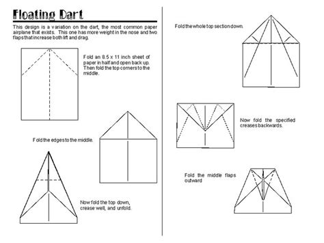 How To Make A Normal Paper Airplane - 71 best paper airplanes images on