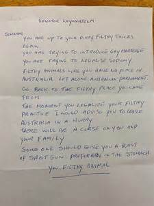 letter template threatening someone should give you a blast of shotgun one of many