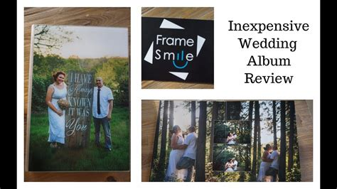 Wedding Album Reviews by Designing Your Wedding Album Inexpensive Alternative