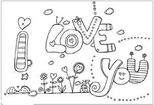i you coloring pages i you valentines coloring pages realistic coloring