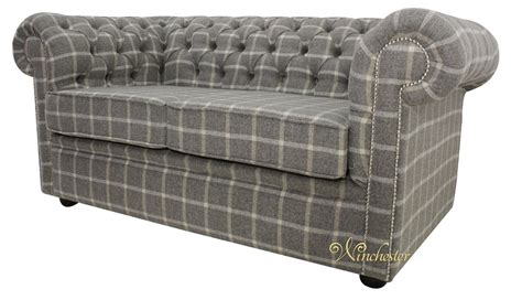 Tweed Chesterfield Sofa Grey Tweed Chesterfield Sofa Rs Gold Sofa