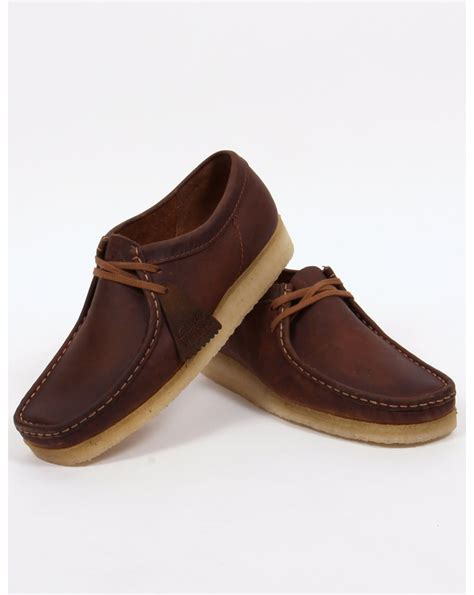 Original Clarks Preloved Shoes clarks originals wallabee shoes beeswax ridge leather