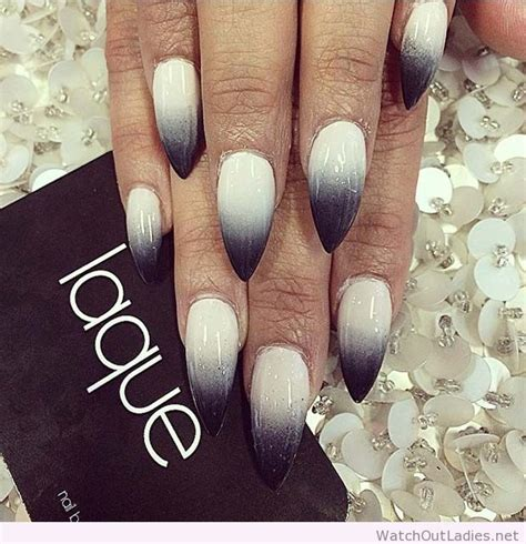 how to do ombre stiletto nail how to do ombre stiletto nail pointy and posh top 65