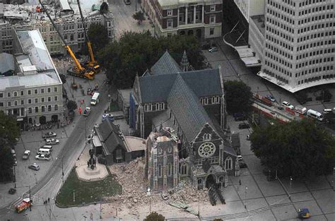 earthquake yesterday nz parablesblog shaking christ s church