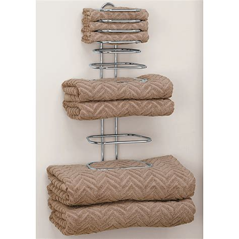 folded towel rack in wall towel racks