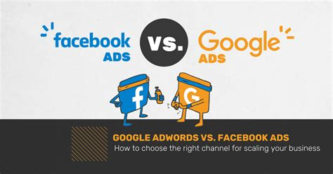 fb google google adwords vs facebook ads what s better for growth
