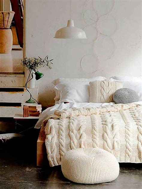 bedroom pouffe diy knitted poufs for a unique accent to your dream home