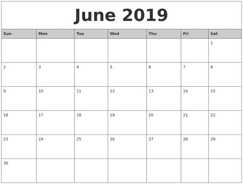 april  blank printable calendar