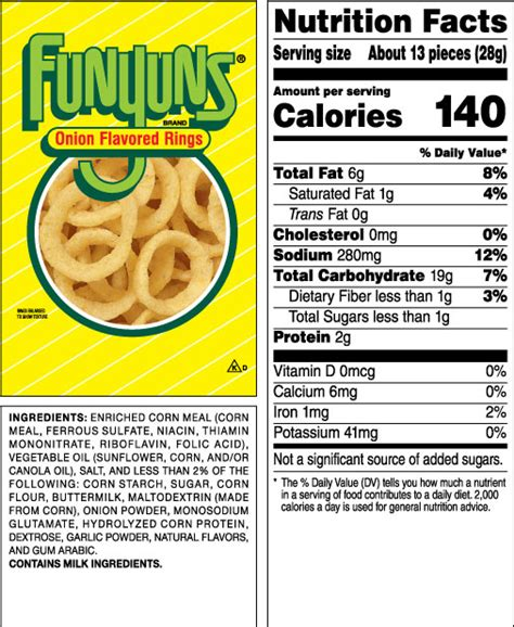 tasty trivia a collection of interestng food facts books funyuns 174 flavored rings