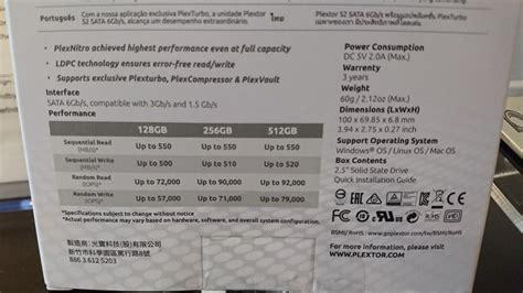 Plextor S3 128gb By King Shoppp plextor shows s3 series sata3 ssds at ces 2018 eteknix
