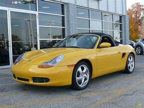 yellow porsche boxster 2000 speed yellow porsche boxster s 47023 gtcarlot com