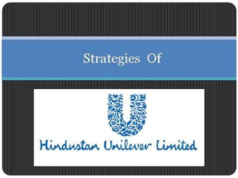B P S M Strategies Hindustan Unilever Authorstream Unilever Ppt Template Free