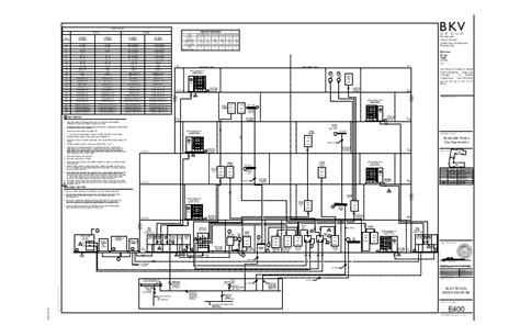 electrical layout of apartment 1902 01 southside works sheet e400 electrical riser